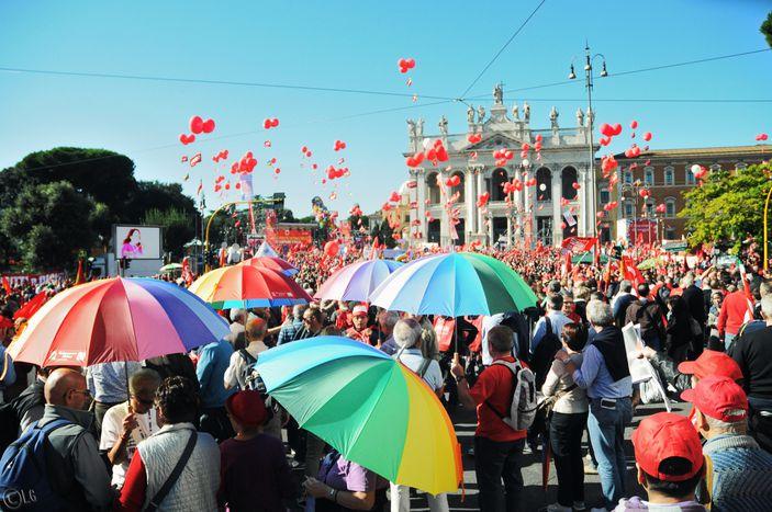 Image for Landini: «C'è bisogno di un vero sindacato europeo»