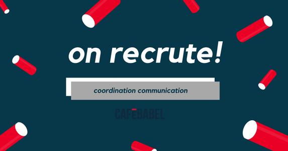Image for Cafébabel Bruxelles recrute un chargé de communication pour l'animation de la communauté — Service civique!