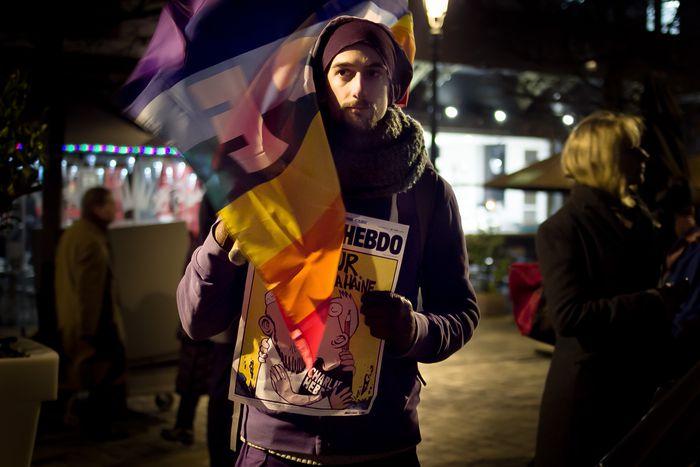 Image for #IamCharlie Rallies Around Europe