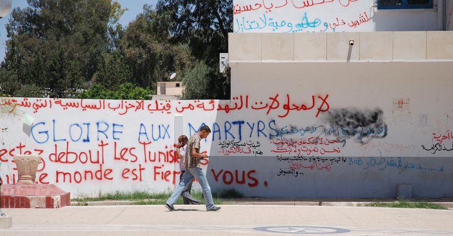 Image for Inspirante Tunisie : entre espoir et crainte