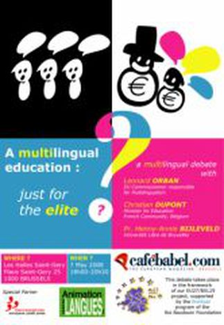 Image for DEBATE ! A Multilingual education : just for the elite ?