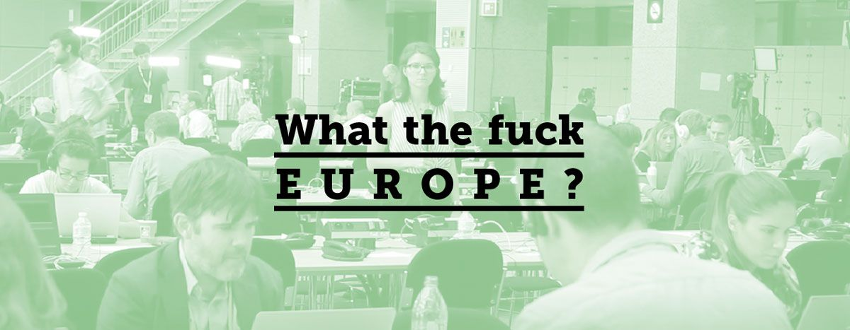 Image for What the fuck Europe : i Mondiali al Consiglio europeo