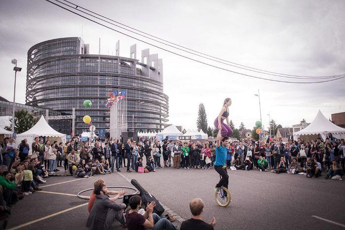 Image for L'Europe de la jeunesse à Strasbourg