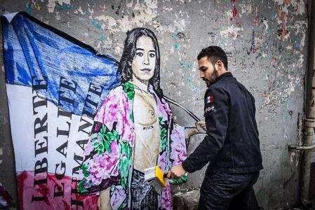 Image for Streetart in Paris: Malen vor den Wahlen