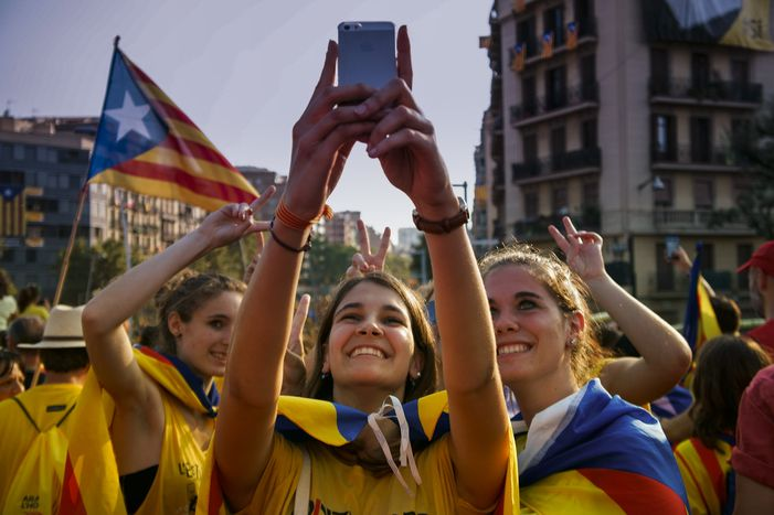 Image for The view from the media:Separatists win in Catalonia