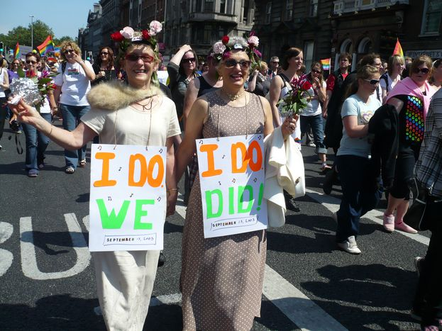 Image for Despite marriage equality, more battles lie ahead forIrish liberalism