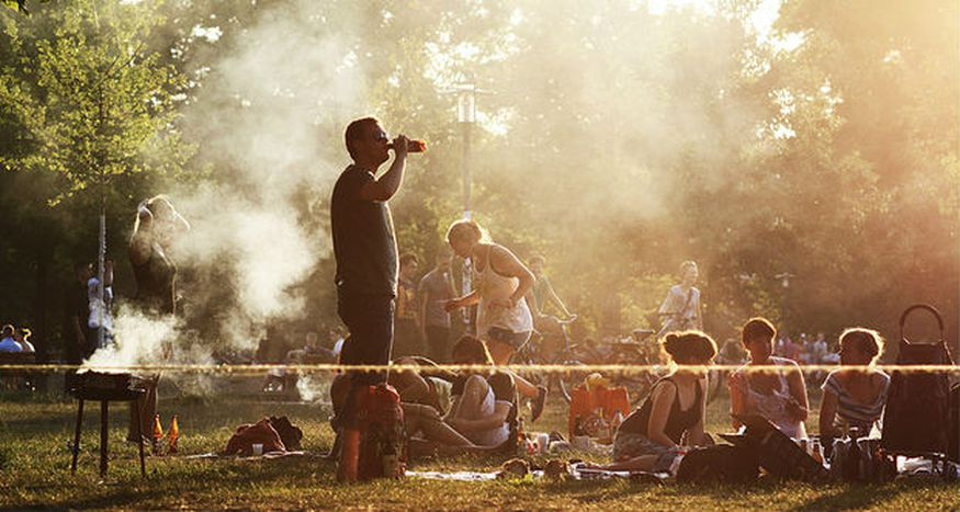 Image for Summer in Berlin: snapshots of a hot city