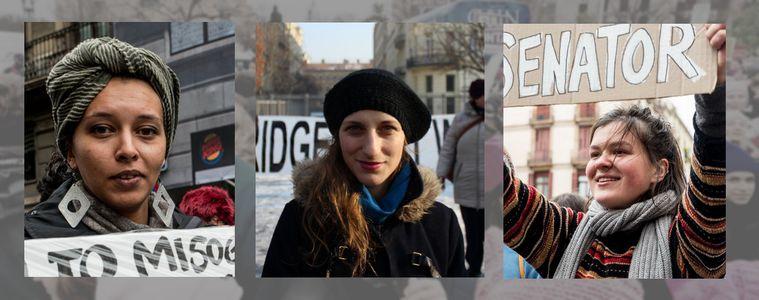 """Image for """"Not Our President"""" : la marche des Femmes à travers l'Europe"""