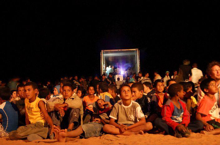 Image for Festival du cinéma dans les camps sahraouis. Objectif : disparaître