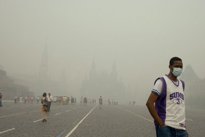 Image for Modlitwa o deszcz w zadymionej Moskwie
