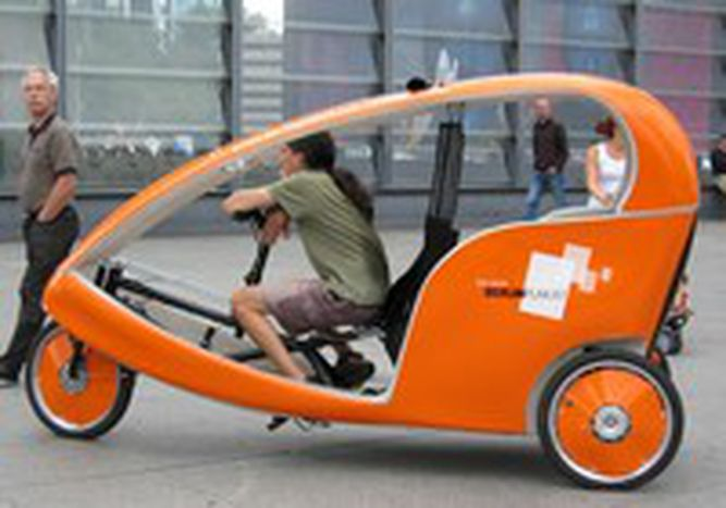 Image for Mit dem Taxi durch Berlin