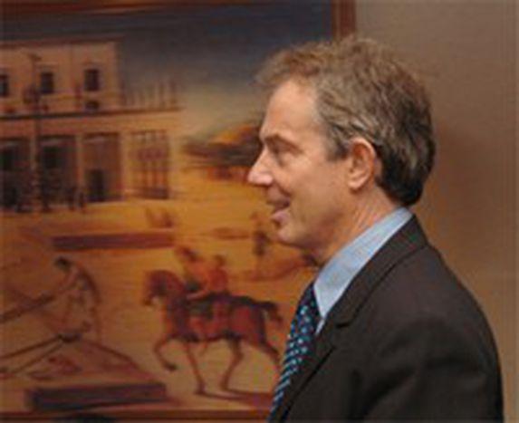 Image for Blair-Europa: todos para uno