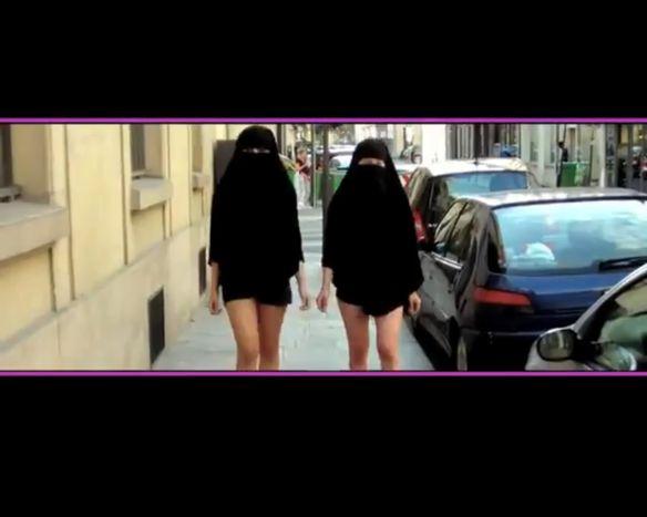 "Image for ""Niqabitch"": Entrevista velada pero semidesnuda"