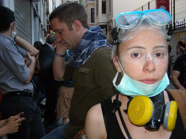 Image for Greek-German erasmus student on Istanbul's Gezi Park protests