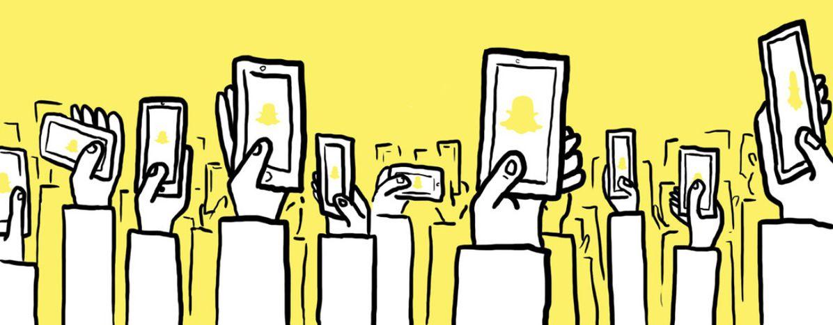 Image for Lechiffre qui parle: six milliards de vidéos sur Snapchat
