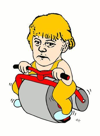 Image for Angela Merkel : le multiculturalisme taclé par la vague Sarrazin