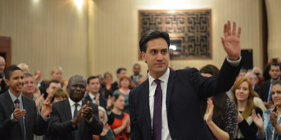 Image for Ed Miliband : walk the line