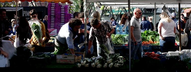 Image for A la découverte des marchés bruxellois