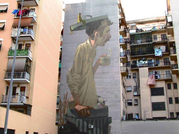 Image for Quando la street art era arte di strada