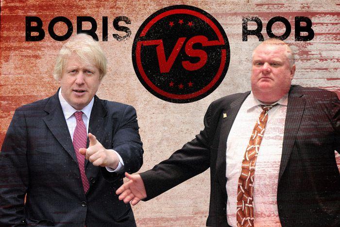 Image for Lotta tra reinPolitica: Boris Johnson Vs. Rob Ford