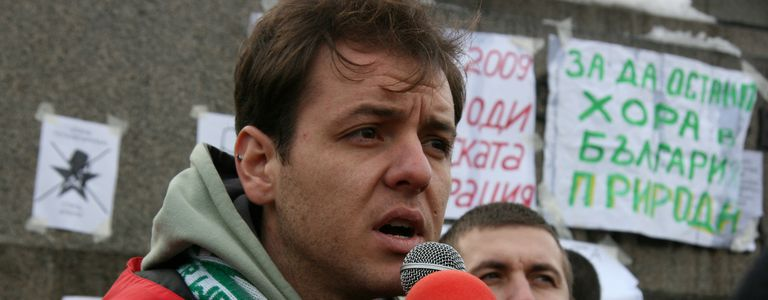 Image for The Bulgarian eco-activistbeing sued for a Facebook status