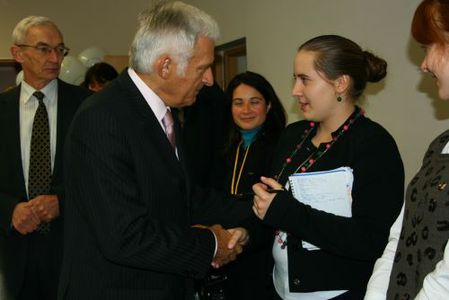 Image for Jerzy Buzek congratulated EHU students and academics with the beginning of a new school year