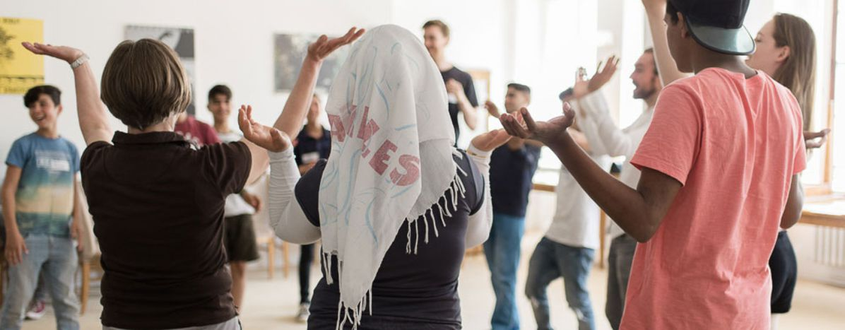 Image for Inside Berlin's refugee theatre workshops