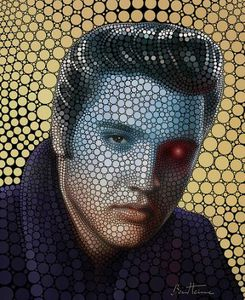 Image for Ritratto di Elvis (circlismo digitale)