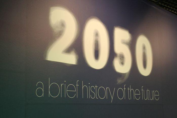 Image for 2050 walking steps tofuture Earth