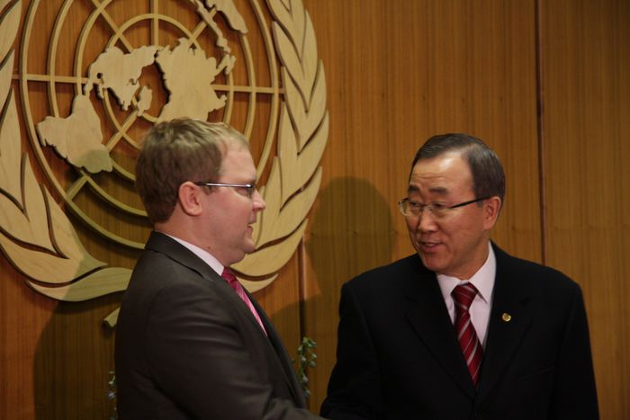 Image for Paet and UN Secretary-General Discuss Gaza, Georgia, Fight against Piracy