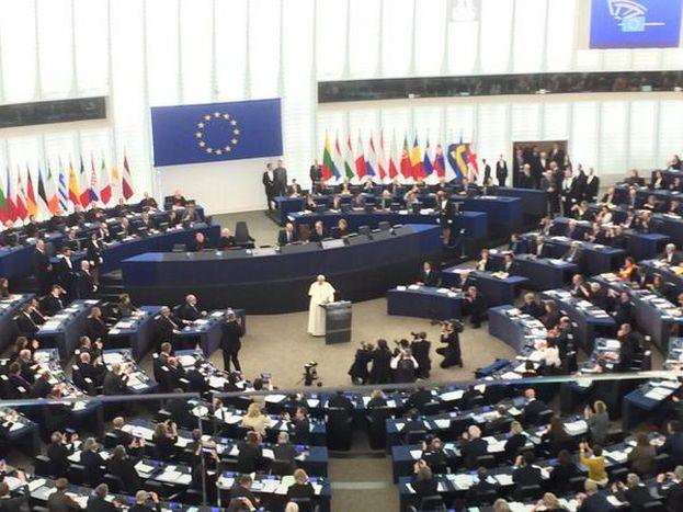 Image for Discours du pape François au Parlement européen