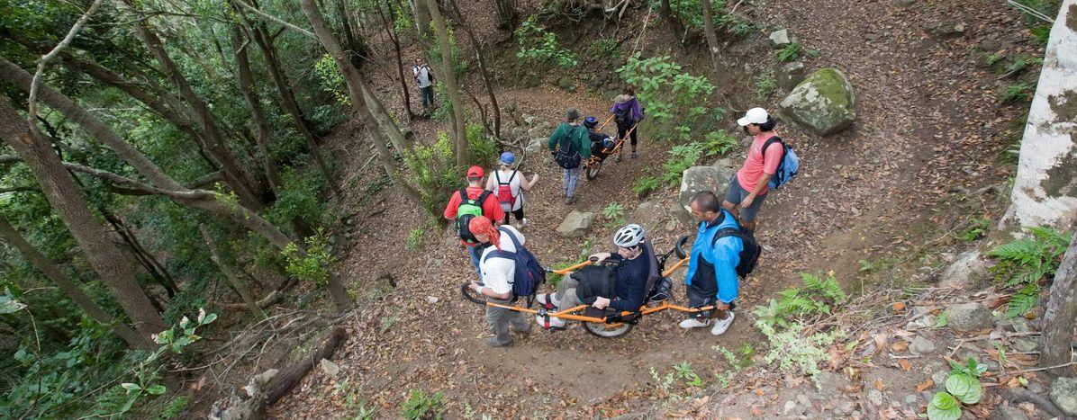 Image for Espagne : gravir les montagnes, dans un fauteuil