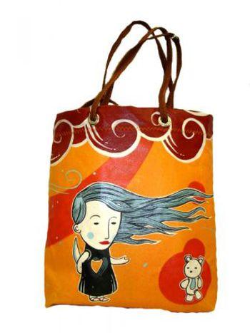 Image for My Nasty Sister: canvans on bag