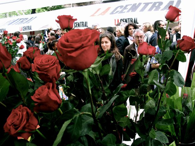 Image for Barcelona und der Weltbuchtag: Vielen Dank für die Blumen